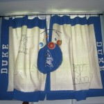 dropcloth curtains hanging - five things to DIY with a Sharpie - Dogs Don't Eat Pizza