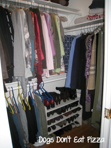 closet organized by color - Dogs Don't Eat Pizza
