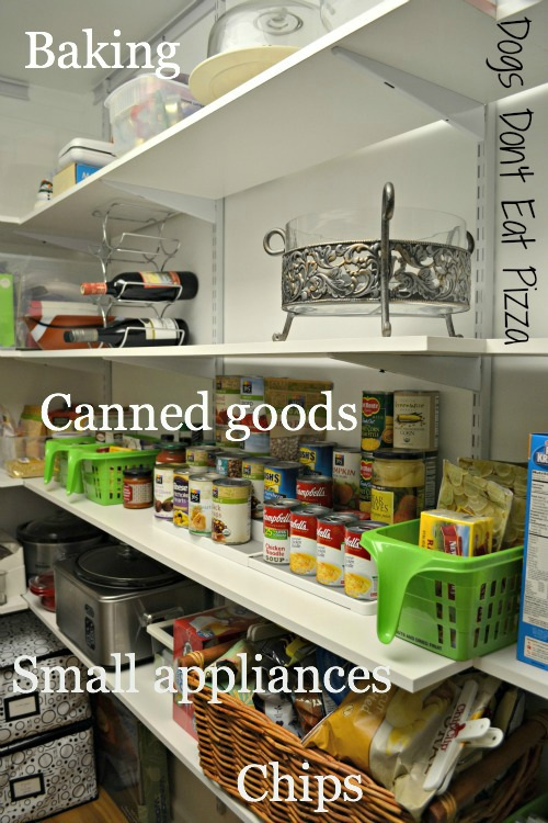 canned goods, baking storage