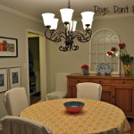 New and Improved Dining Room
