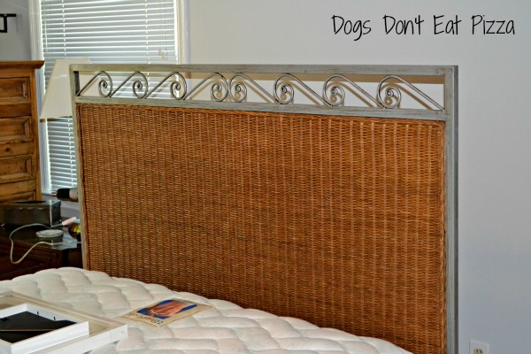 Mohawk Homescapes - headboard before - Dogs Don't Eat Pizza