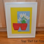 mothers day art framing at Dogs Don't Eat Pizza