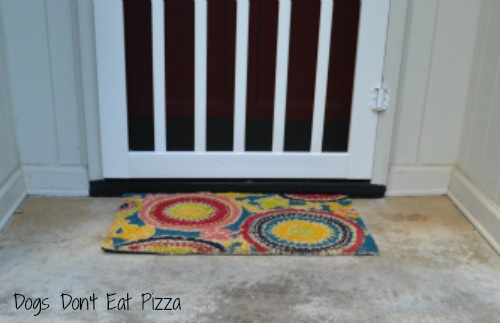 freshen up door, bright doormat, instant curb appeal