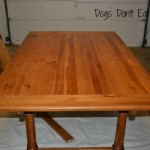new old dining room table