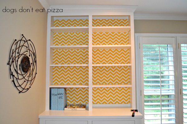 one side done, how-to,attaching fabric, inexpensive materials, easy weekend project, decor change-up