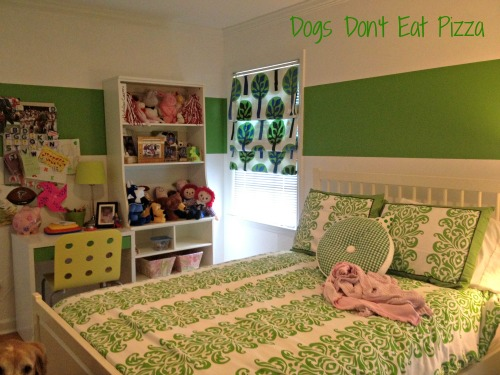daughter green room - Dogs Don't Eat Pizza