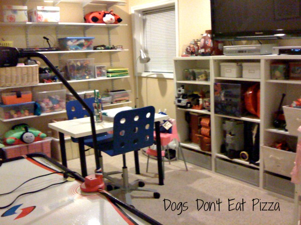 playroom redo - Dogs Don't Eat Pizza