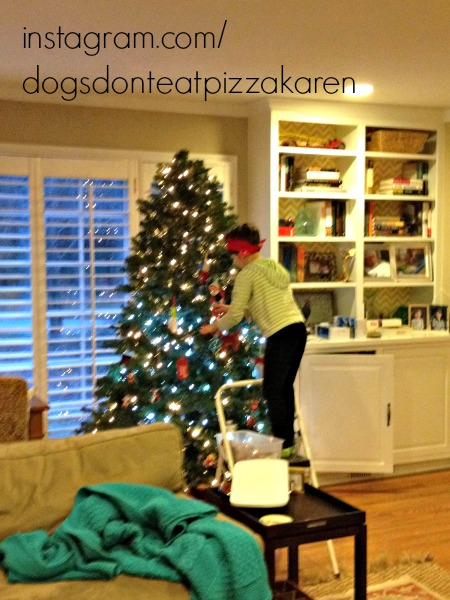 ninja elf in charge - 2013 holiday - Dogs Don't Eat Pizza
