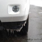 icicles on car - Dogs Don't Eat Pizza