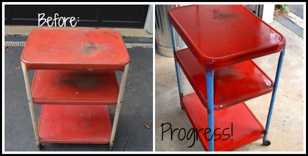 industrial-cart-cleaned - upcycling- Mohawk Homescapes