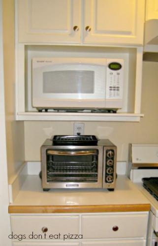 old-kitchen-weird-microwave-shelf - Dream-Kitchen - Mohawk Homescapes