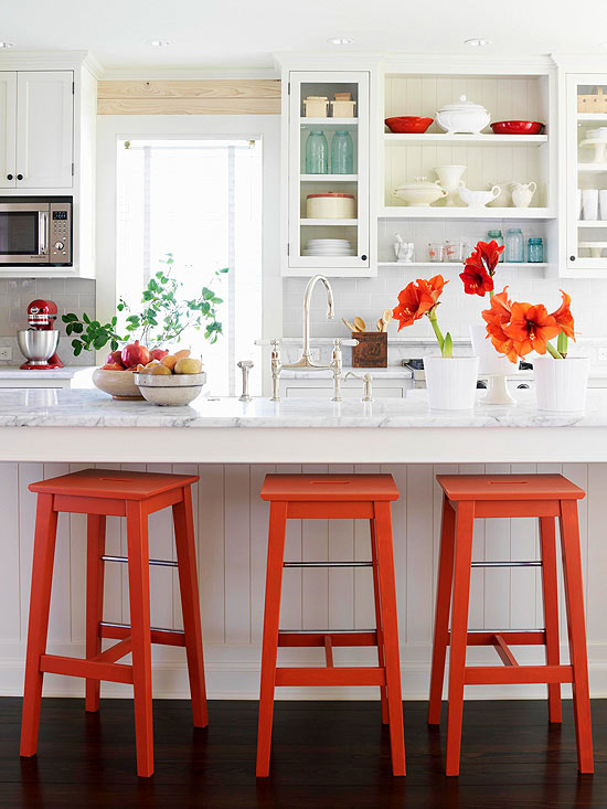 red-kitchen - Dream-Kitchen - Mohawk Homescapes