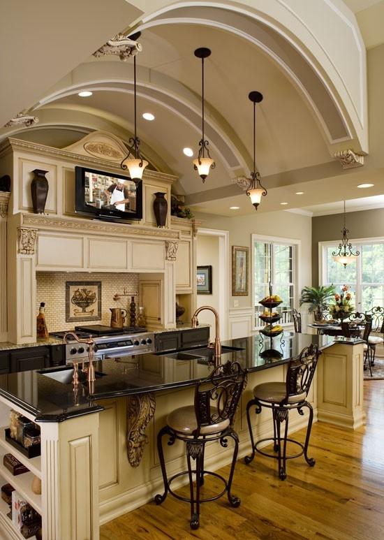 traditional-kitchen - Dream-Kitchen - Mohawk Homescapes