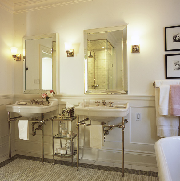 glam-Parisian-style-bathroom- Mohawk Homescapes
