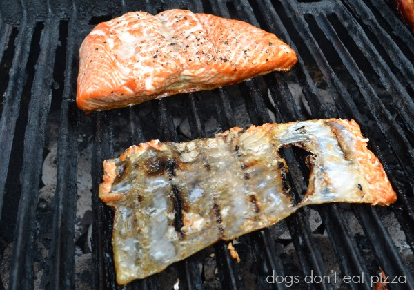 how to cook salmon on the grill with skin