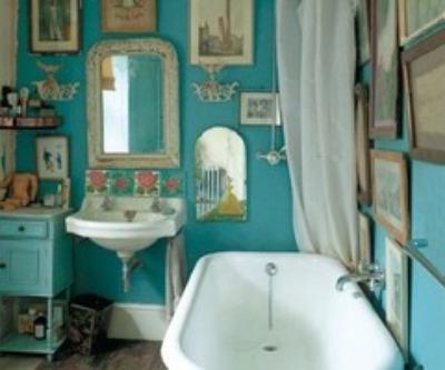 turquoise-bath - Parisian-bath - Mohawk Homescapes