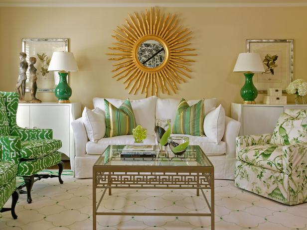 HGTV-green-accents-room - color-showcase - Mohawk-Homescapes