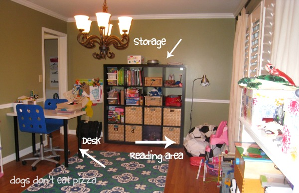 dining-room-into-homework-station - Mohawk-Homescapes