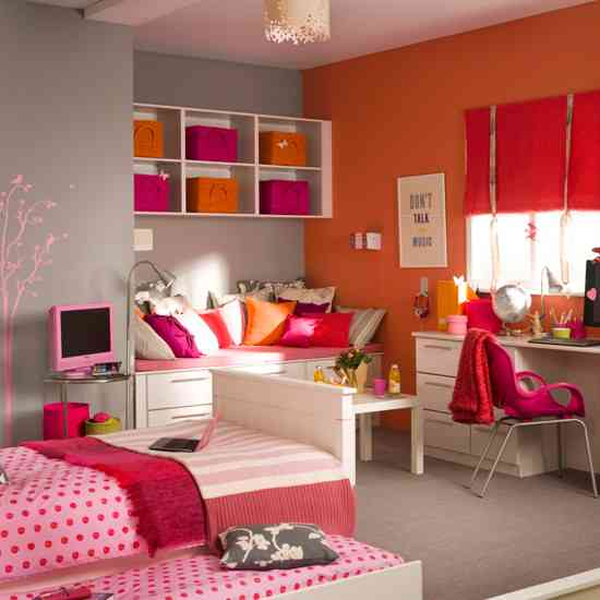 pink and orange bedroom color showcase mohawk homescapes