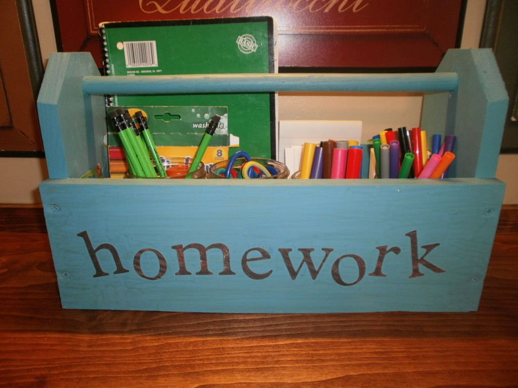 tool-box-homework-station - Mohawk-Homescapes