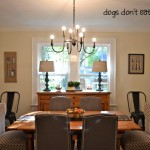 Dining Room in New-to-Us House - side view - Dogs Don't Eat Pizza