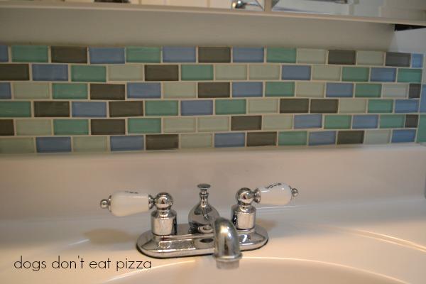 grouted tile backsplash - refresh space for less - Mohawk Homescapes