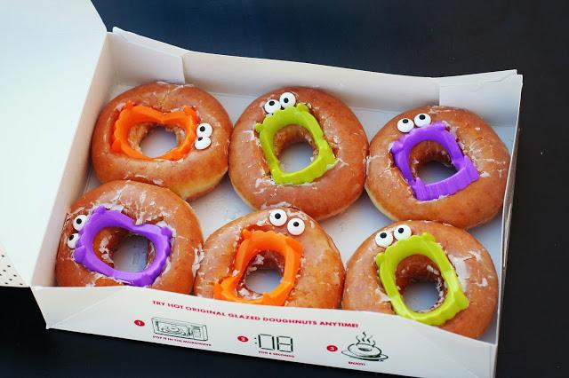 Halloween donut treat - Mohawk Homescapes
