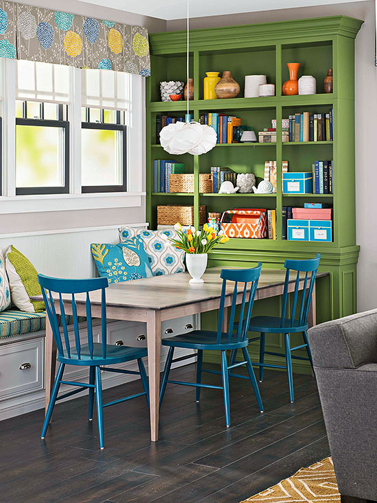 colorful dining room - grand dining rooms - Mohawk Homescapes