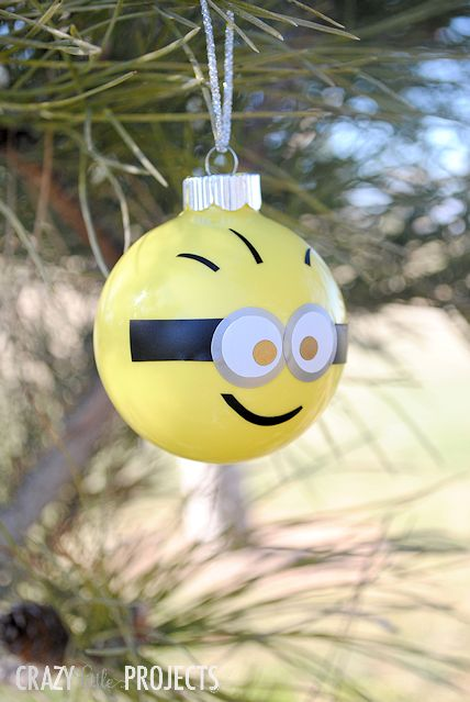 Minion ornament - DIY ornaments - Mohawk Homescapes
