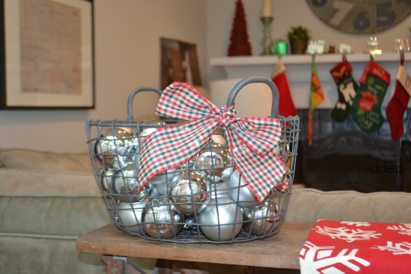 basket of ornaments - Mohawk Homescapes