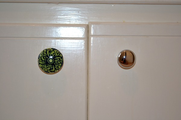 new knobs on vanity - refresh space for less - Mohawk Homescapes