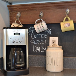 How to create a coffee bar - my coffee bar - Dogs Don't Eat Pizza