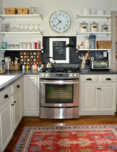 chalkboard paint backsplash - refresh space for less - Mohawk Homescapes