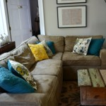 bright pillows - easy ways to freshen up your home - Mohawk Homescapes