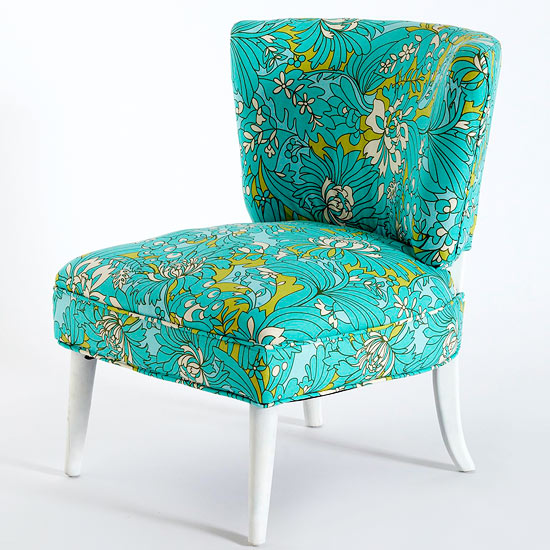 how to reupholster a chair from BHG - reinventing traditional pieces - Mohawk Homescapes