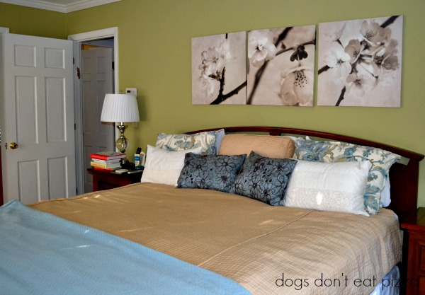 Add blankets or quilts on each bed - cozy home solutions checklist - mohawkhomescapes.com