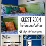 Guest room before and after reveal - dogsdonteatpizza.com