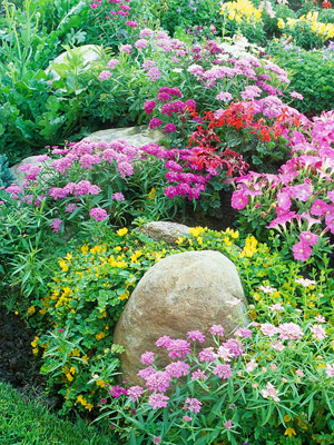 cottage garden - homes and gardens using color - Mohawk Homescapes
