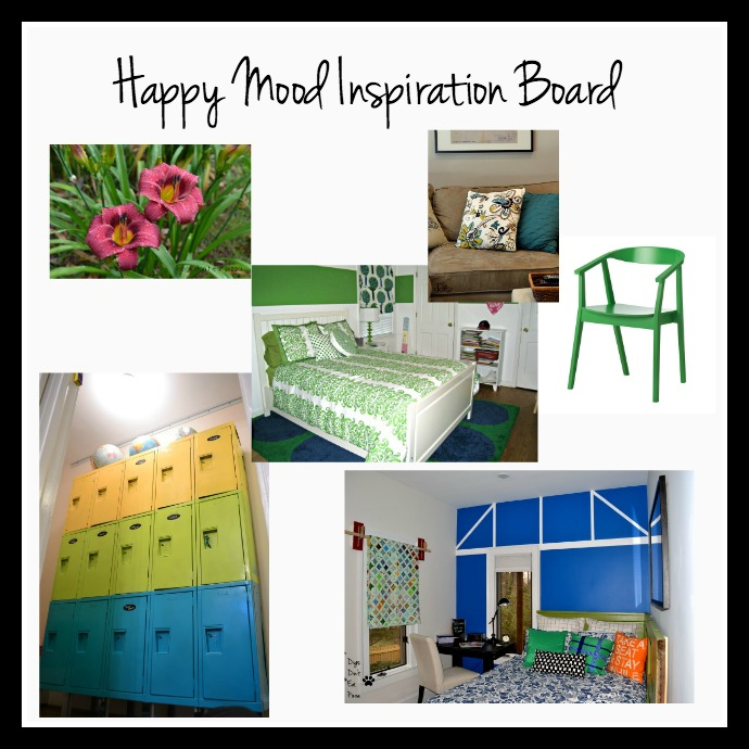 happy mood makeover inspiration board - Mohawk Homescapes