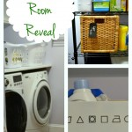 See how I transformed my laundry room from dreary to bright - Laundry Room Reveal - Dogs Don't Eat Pizza