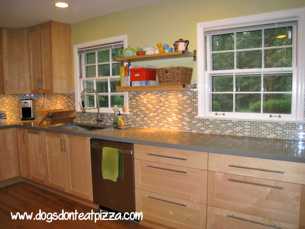 finished kitchen cabinets with pulls - decor from the ground up - mohawkhomescapes.com