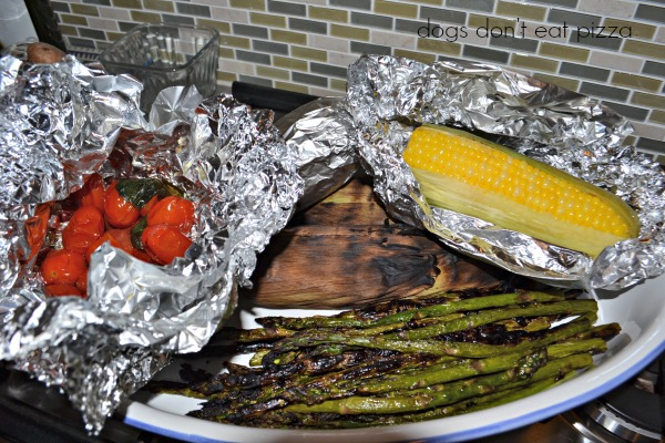grilled vegetables - fast and fresh summer recipes - Mohawk Homescapes