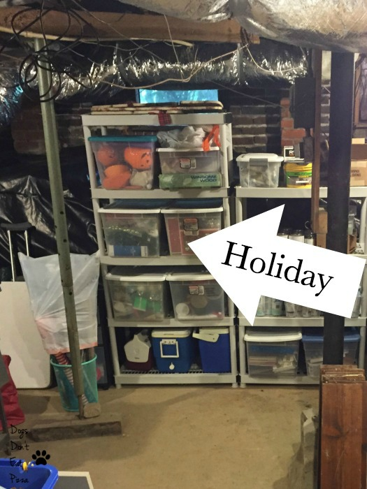 Holiday Decoration Organization – Day 3, Thirty Days of Gratitude, Tidying Up Edition