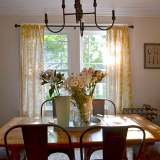 farmhouse rustic dining room side view - Dogs Don't Eat Pizza