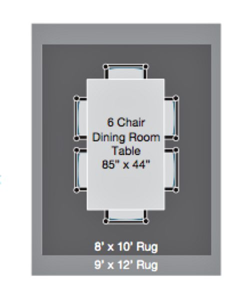 Size for dining room rug - how to arrange furniture around an area rug - Mohawk Homescapes