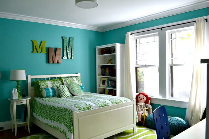 my daughter 39 s blue and green bedroom
