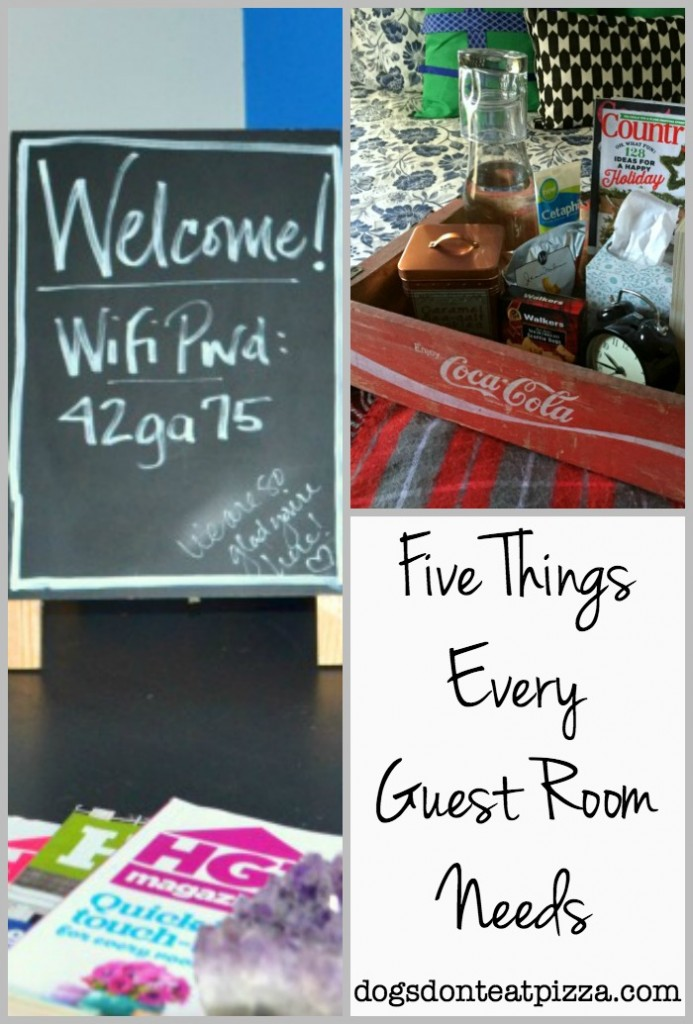 Five Things Every Guest Room Needs