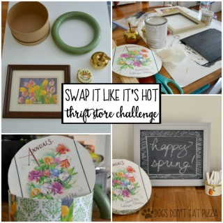 See what I got in the mail and how I transformed it - Swap It Like It's Hot - dogsdonteatpizza.com