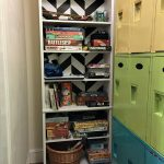 How to Dress Up a Yard Sale Bookcase - dogsdonteatpizza.com