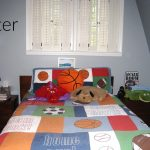 Boy's Bedroom for Sports Fan